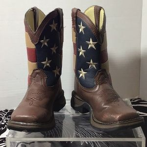 Durango - boots with a USA flag